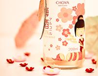 CHOYA Liqueur Packaging Design