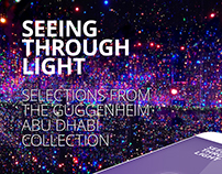 Guggenheim Abu Dhabi. Seeing through light   UI/UX