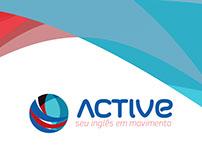Redesign Active - Escola de inglês