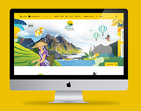 Assam Tourism Website