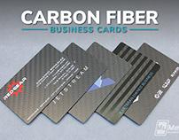 Genuine Carbon Fiber Business Cards