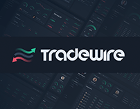 Tradewire — Trading Journal App (UX/UI, Design System)