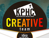Creative Team Poster Design • Kenly PH Church