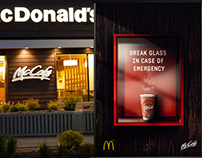 McDonalds McCafé ADS