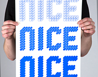 CSLogic - screen printed poster book