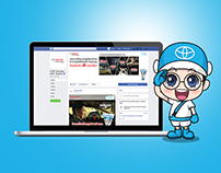TOYOTA : Online marketing content
