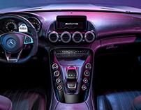 Mercedes c190 AMG GT - CGi