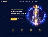 Cryptop - Crypto Currency WordPress Theme
