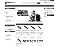 Tienda Virtual para venta de repuestos - Venezuela