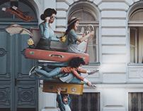 Luggage Car