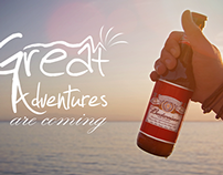 Budweiser - Great adventures are coming.