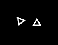 2D Triangle Logo animation