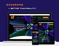 EXO сайт - аттракционы дополненной реальности