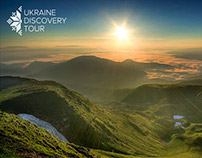 Logo and Identity Design for Ukraine Discovery Tour