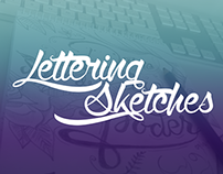Lettering sketches (2015)