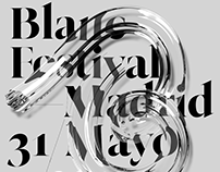 Blanc Festival 19 Identity
