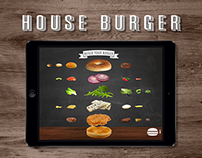 Burger Builder for Touch Screens