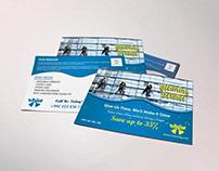Corporate Cleaning Service EDDM Postcard