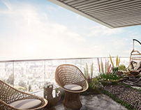 CG Interior Visualisation For A Beautiful Terrace