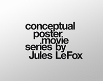 Conceptual poster movie series