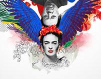Frida Calo & Diego Rivera