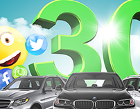 30 Cars Jawwal Campaign