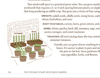 Postage Stamp Garden Book