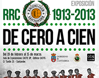 EXPOSICIÓN Centenario Real Racing Club -De Cero a Cien-