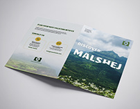 Brochure Design with my Travel Photos