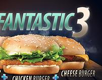 Burger king fantastic 3