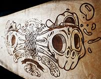 New Engraving Skateboards