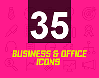 35+ Sets of Business & Office Icons