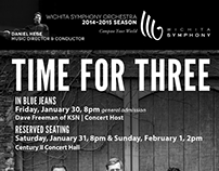 Wichita Symphony Orchestra Recurring Newspaper Ads