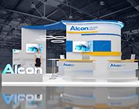 Exhibition stand for Alcon