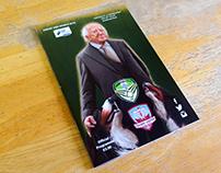 Michael D Higgins Cabinteely Match Programme Cover