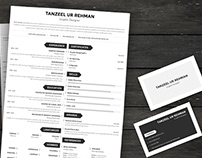 Simple Resume Template - MS Word Format (FREE DOWNLOAD)