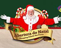 VT Chegada do Papai Noel Shopping Cidade das Flores