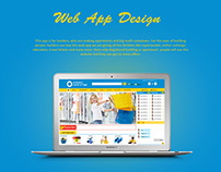 Ecommerce web app for builders