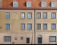 Facade revitalization - The Old Town in Warsaw