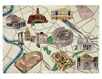 City Maps for Explore History Mag
