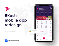 BKash Mobile App Re-design