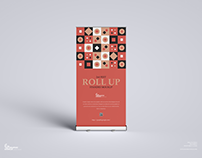 Free Roll up Standee Mockup