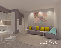 Apartament interior design Inside Studio Timisoara