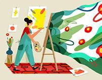Hao Hao Illustrations