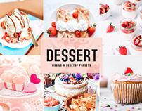 Free Dessert Mobile & Desktop Lightroom Presets