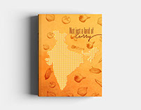 Not just a land of curry | Book Design