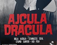 ajcula dracula (shark dracula) poster