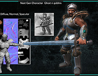 Old game character proyects