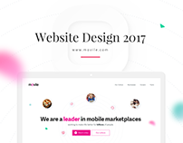 Movile 2017 Website Design