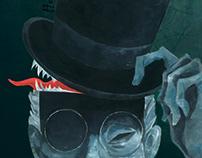 Book Illustration: Steppenwolf